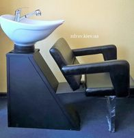 Мойка парикмахера с креслом Фламинго мод. ZD-83. Есть выставочный зал