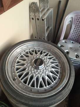 Original 17 inch bbs rims for sale in good condition