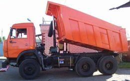 Камаз 20т, перевозка сыпучих материалов, вывоз мусора, чернозем, глина
