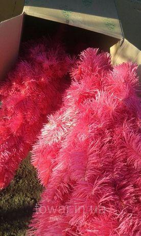 Елка сосна искусственная розовая 220 см 2018 Польша Наличие Львов - изображение 7