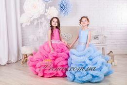 Нарядное бальное пышное детское платье Облако от произв., дропшиппинг
