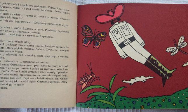 książka z 83 r. Niezwykła przygoda kapitana Łukasza w Państwie motyli Zgierz - image 4