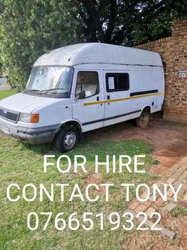 LDV convoy for hire.