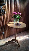 Stylowy stolik kawowy Thonet Radomsko - lite drewno bukowe