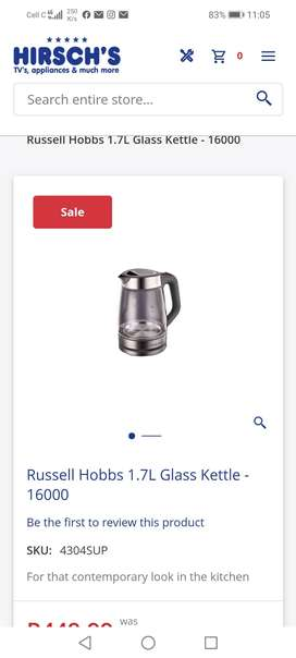 Russell hob kettle