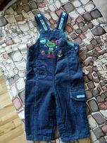 Spodnie spodenki sztruksowe z bawelniana podszewka