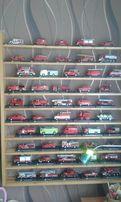 Kolekcja wozów strażackich