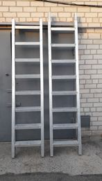 Лестница алюминий 5 метров из 2х частей электро технический