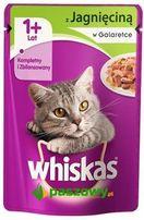 Pokarm, karma dla kotów w saszetkach 100 g Whiskas z jagnięciną !