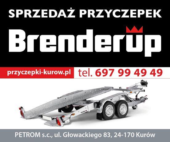 NOWA LAWETA Przyczepa przyczepka samochodowa Brenderup 2513 GT Lublin - image 1