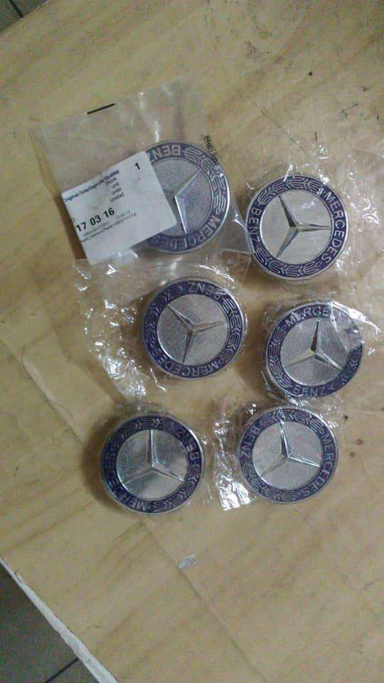 Mercedes Benz mag rim covers 0