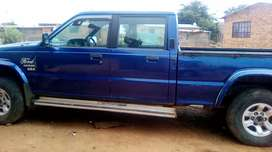 7 years ford 4 door bakkie for sale, it is in perfect condition