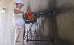 Алмазная резка бетона. Демонтажные работы. Подготовка квартир к ремонт