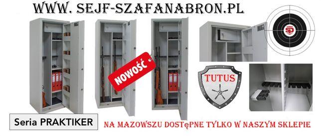 NOWOŚĆ szafa na broń S1 13 luf PRAKTIKER, głębokość 45 cm, faktura VAT Jabłonowo - image 2