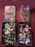 Kucyki Filly zestaw zabawki koniki