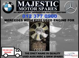 Mercedes benz W204 E220 used engine for sale