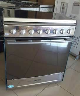 New 6 Burner fully gas stove with gas oven with 1 year warranty