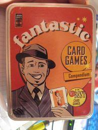настольная игра английский язык fantastic card games металл коробка
