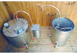 Дистилятор Мідний Під Непроточну воду - Дистиллятор Медный