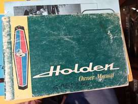 Holden Special, owners manual
