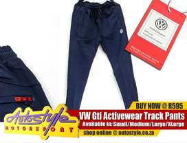jogger pants. GTI Volkswagen activewear, jogger pants, winter jerseys,