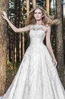Свадебное кружевное платье, ручная вышивка, бисер Sherry Hill