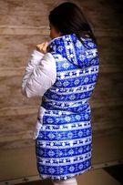Куртка женская с зимней символикой