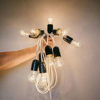 Виготовлення гірлянд изготовление ретро гирлянд лампочки