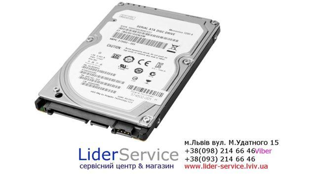 Жорсткий дис Вінчестер HDD 500 gb для ноутбука Lider service Львов - изображение 1