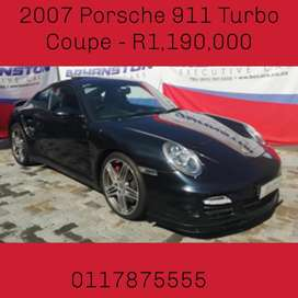 2007 Porsche 911 Turbo Coupe - R1,190,000