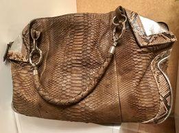 Питоновая женская сумка