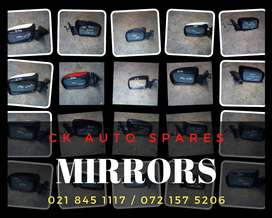 Mirrors for sale for most vehicles make and models.