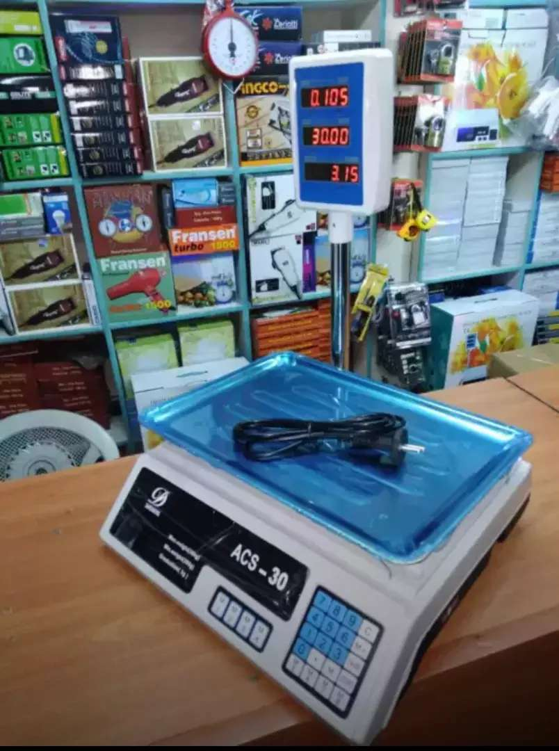 30KG WEIGHING SCALE 0