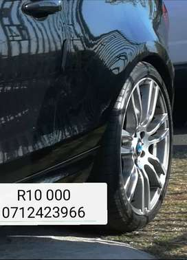 Bmw F30 OEM rims and tyres R10 000