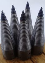 Винтовой конус колун морковка дровокол для заготовки дров
