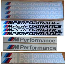 BMW M Performance side sill decals OEM Size