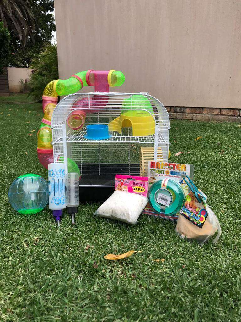Hamster Cage and accessories 0