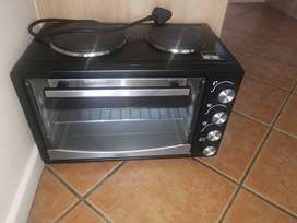 2 plate oven stove