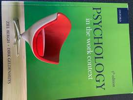 Psychology in the work context 5th edition