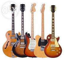 Аренда, прокат гитар: акустических гитар, электрогитар,бас-гитар. Киев