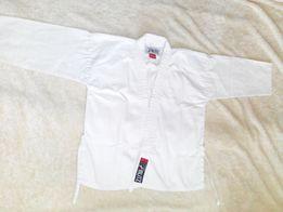 кимоно: куртка, брюки. белые и чёрные. Кэмпо, тхэквондо, кобудо,карате
