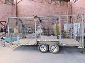 Recycling Trailer Double Axle