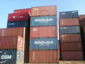 20 foot second hand shipping containers in very good condition