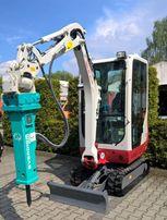 Młot hydrauliczny EVERDIGM EHB02 do minikoparki!