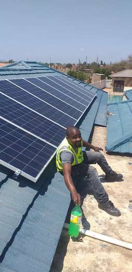 We sell solar panels and solar Batteries for less prices