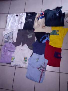 T shirts and pants for sale Lage and extra large R50 each