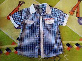 Продам рубашку на мальчика 4-5 лет