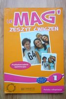 Le Mag 1 - ćwiczenia do j. francuskiego klasa 1 gimnazjum