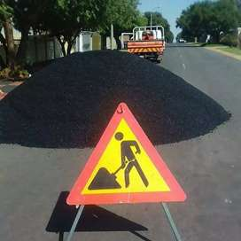 Tar surface and paving drive way parking areas roads pothole