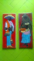 ozdoby ścienne meksykanin, murzynka